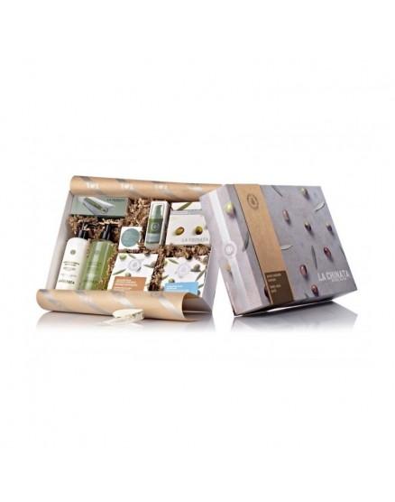 Naturkosmetik-Geschenkbox Extra Virgin Olivenöl Gesichtspflege