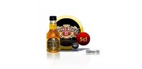 Bouteille miniature de Whisky Chivas Regal 12 ans 5CL 40 °