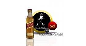 Botella de whisky miniatura Johnnie Walker Red E / R 5CL 40 °