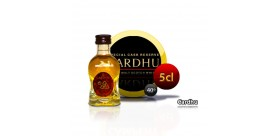 Mini bottle of Whiskey Cardhu 5CL 40 °