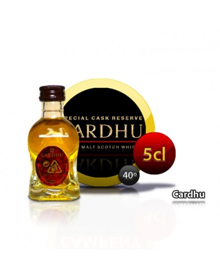 Mini botella de Whisky Cardhu 5CL 40 °
