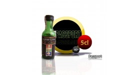 Mini botella de Passport whisky escocés 5CL 40 °