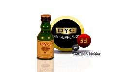 Botella miniatura de Whisky Dyc 8 años 5CL 40 °