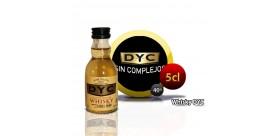 Botella miniatura de Whisky Dyc 5CL 40 °