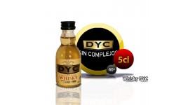 Miniaturflasche Whisky Dyc 5CL 40 °