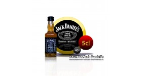 Miniature bottle of Bourbon Jack Daniel's 5CL 40 °