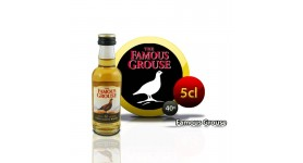 Bouteille miniature The Famous Grouse whisky 5CL 40 °
