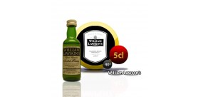 Botella de miniatura whisky Willliam Lawson 5CL 40 °