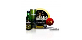 Bouteille miniature Scotch Whisky Glendfiddich. 5CL 40 °