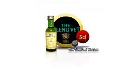 Bouteille miniature Whisky The Glenlivet Il a 12 ans 5CL 40 °