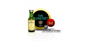 Whiskey miniature bottle The Glenlivet He is 12 years old 5CL 40 °