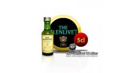 Whisky-Miniaturflasche The Glenlivet Er ist 12 Jahre alt, 5CL 40 °