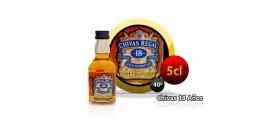 Bouteille miniature Whysky Chivas Regal 18 ans, 5CL 40 °