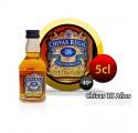 Botella miniatura Whysky Chivas Regal 18 años, 5CL 40 °