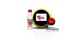 Smirnoff 5cl miniature vodka.