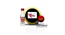 Smirnoff vodka en miniatura de 5cl.