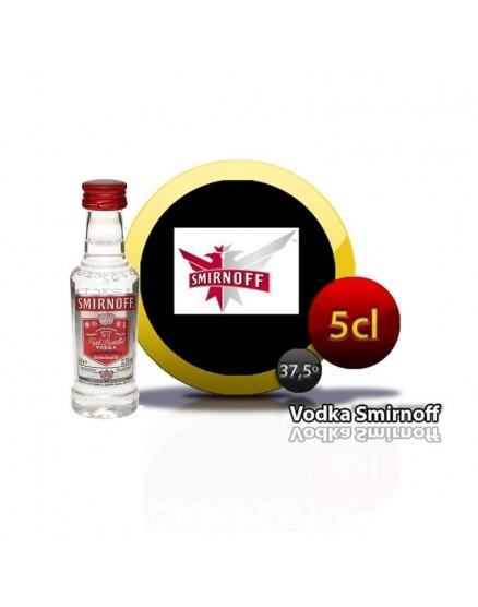 Smirnoff 5cl Miniatur-Wodka.