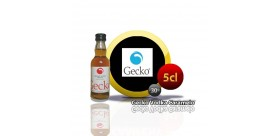 mini bottle of 5cl.Gecko Vodka Caramel