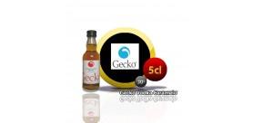 Mini-Flasche 5cl.Gecko Wodka Caramel