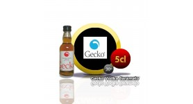 Mini botella de 5cl.Gecko Vodka Caramelo