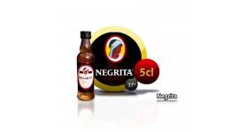 Rhum NEGRITA 5 ans bouteille miniature
