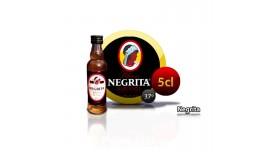Rum NEGRITA 5 years bottle miniature