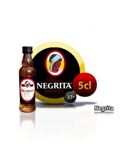 Rum NEGRITA 5 Jahre Flaschenminiatur