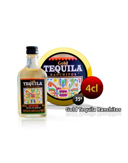 Ranchitos Gold Tequila 4 cl