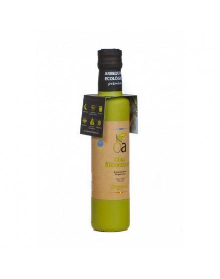 Aceite de oliva virgen extra ecológico Arbequina oleoalmanzora 250 ml