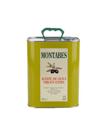 Aceite de oliva virgen extra Montabès