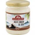 Huile de noix de coco vierge Bio Natursoy, 200 g