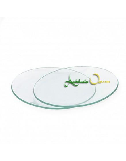 Glasdeckel für Verkostungstasse Olivenöl