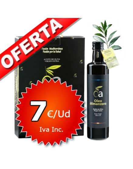 Extra virgin olive oil PREMIUM Selection Oleoalmanzora.500ml x3