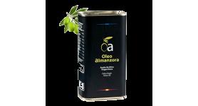 Aceite de oliva virgen extra Selección OLEoalmanzora PREMIUM. Caja de 1 l