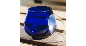 6 Gläser Verkostung Öl + 6 Gläser Deckel