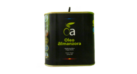 Extra virgin olive oil Box 2.5 L Selection OLEoalmanzora PREMIUM