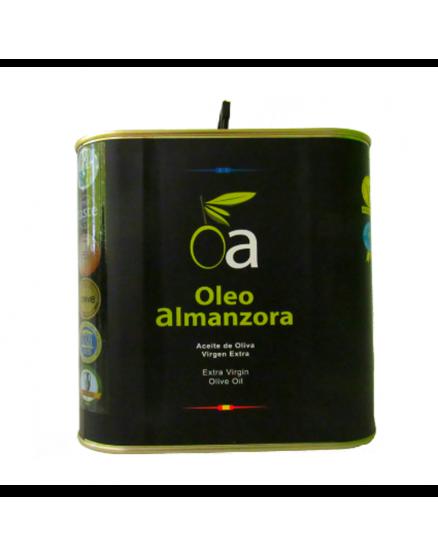 Aceite de oliva virgen extra Caja 2.5 L Selección OLEoalmanzora PREMIUM