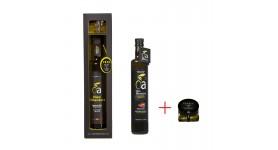 Extra virgin olive oil OLEoalmanzora PREMIUM box. (250 ml & pearls 40 gr)