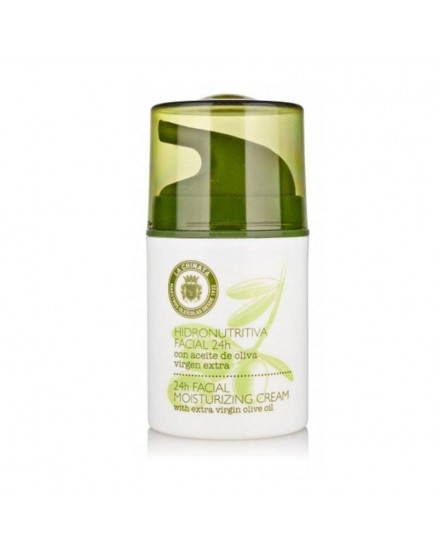 Hydro facial cream 24H with Extra Virgin Olive Oil