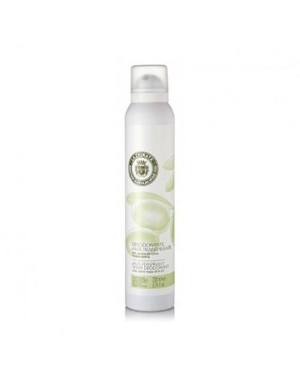 Sprühen Sie Deodorant mit nativem Olivenöl Extra