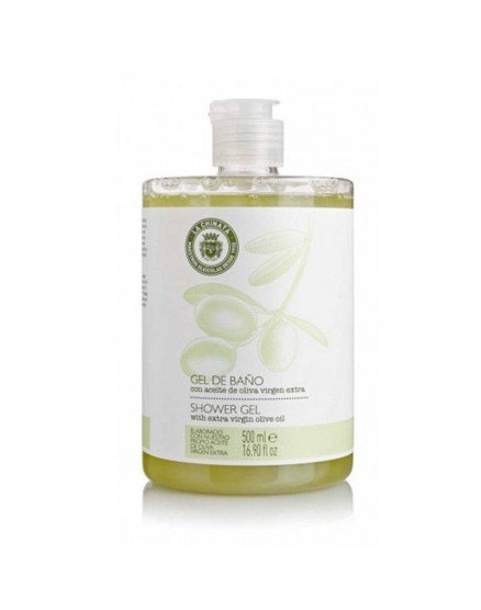 Bath gel with Extra Virgin Olive Oil