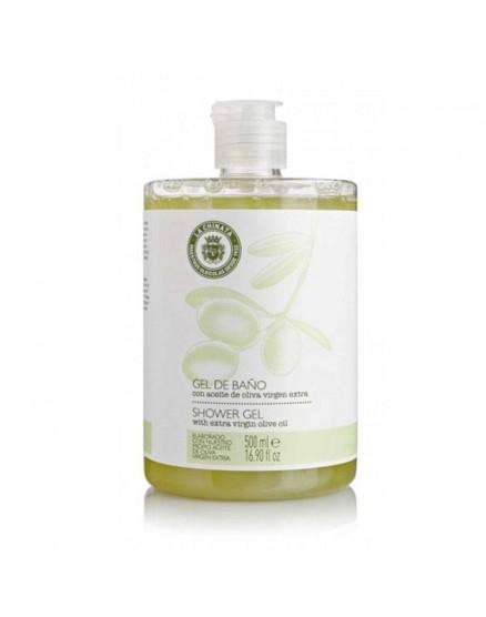 Gel de bain à l'huile d'olive extra vierge