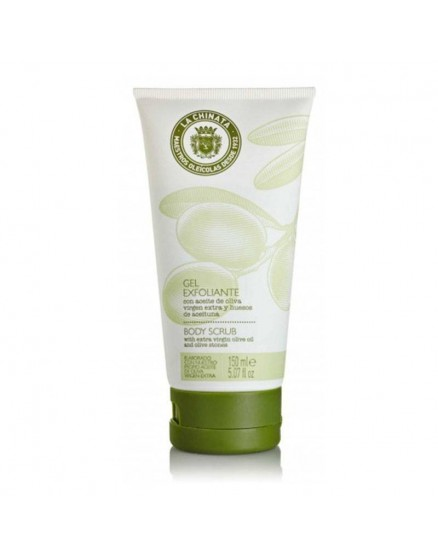 Exfoliating gel with Extra Virgin Olive Oil and Olive Bones