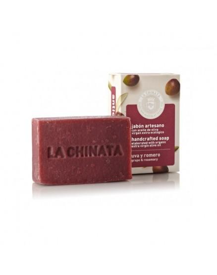 Pastilla de Jabón Artesano Antioxidante con Aceite de Oliva 'Uva Romero'