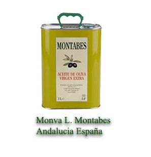 aceite de oliva virgen MONTABES