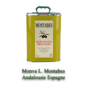 huile d'olive MONATBES
